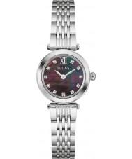 Bulova Ladies Diamond Silver Steel Bracelet Watch