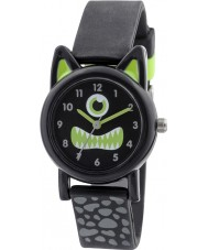 Tikkers TK0097 Boys Red Brown Silicone Monster Watch