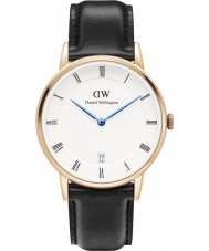 Daniel Wellington DW00100092 Dapper 34mm Sheffield Rose Gold Watch
