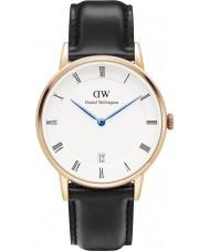 Daniel Wellington DW00100092 Dapper 34mm Sheffield Rose Gold Watch