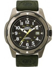 Timex T49271 Mens Black Green Expedition Rugged Field Watch