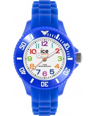 Ice-Watch MN.BE.M.S.12 Ice-Mini Blue Silicone Strap Watch