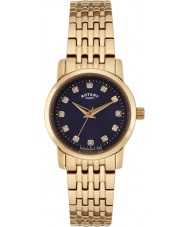 Rotary LB02462-05 Ladies Timepieces Sloane Rose Gold Steel Bracelet Watch