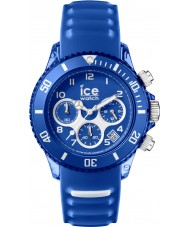 Ice-Watch AQ.CH.MAR.U.S.15 Ice-Aqua Marine Blue Silicone Strap Chronograph Watch