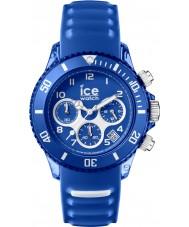 Ice-Watch AQ.CH.MAR.U.S.15 Ice-Aqua Marine Blue Silicone Strap Chronograph Watch