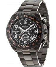 Police 14343JSUB-02M Mens Navy V Black Steel Watch