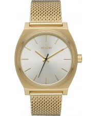 Nixon A1187-2807 Ladies Time Teller Milanese Watch