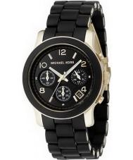 Michael Kors MK5191 Ladies Runway Black Chronograph Watch