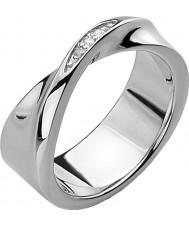 Hot Diamonds Ladies Simply Sparkle Twist Ring