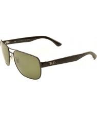 RayBan RB3530 58 Highstreet Gunmetal 002-9A Polarized Sunglasses