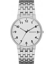 Skagen SKW6200 Mens Ancher Silver Steel Bracelet Watch