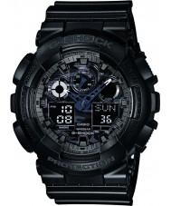 Casio GA-100CF-1AER Mens G-Shock Black Chronograph Watch