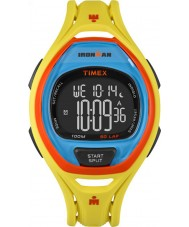 Timex TW5M01500 Ironman 150-Lap Full Size Sleek Yellow Resin Strap Chronograph Watch