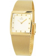 Obaku V102LXGGMG Ladies All Gold Plated Mesh Bracelet Watch