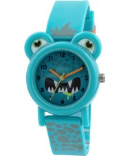 Tikkers TK0098 Boys Blue Silicone Monster Watch