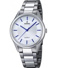 Festina F16875-3 Mens Classic Silver Steel Bracelet Watch
