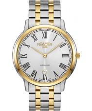 Roamer 515810-47-22-50 Mens Superslender Two Tone Steel Bracelet Watch