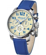 Ingersoll IN1224SCR Mens Colby Blue Leather Strap Watch