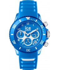 Ice-Watch AQ.CH.SKY.U.S.15 Ice-Aqua Skydiver Blue Silicone Strap Chronograph Watch