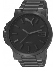 Puma PU103461008 Ultrasize Black Steel Bracelet Watch