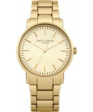 Daisy Dixon DD004GM Ladies Kate Matt Mirror Dial Gold Plated Watch