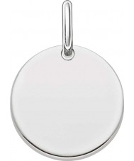 Thomas Sabo LBPE0001-001-12 Ladies Love Bridge 925 Sterling Silver Pendant