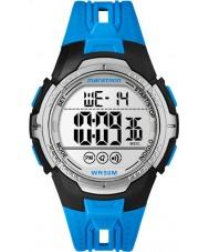 Timex TW5M06900 Mens Marathon Blue Resin Strap Watch