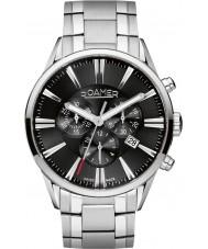 Roamer 508837-41-55-50 Mens Superior Silver Steel Chronograph Watch