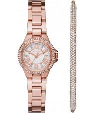 Michael Kors MK3654 Ladies Camille and Bracelet Gift Set