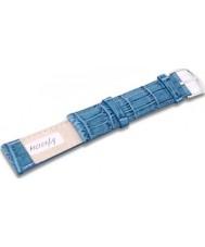 Krug Baümen MC15619L Sea Blue Leather Replacement Ladies Principle Strap