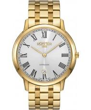 Roamer 515810-48-22-50 Mens Superslender Gold Steel Bracelet Watch