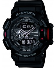 Casio GA-400-1BER Mens G-Shock Black Chronograph Watch