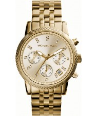 Michael Kors MK5676 Ladies Ritz Gold Plated Chronograph Watch