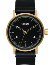 Nixon A1194-1031 Mens Stark Leather Watch