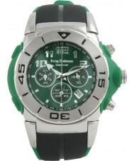 Krug Baümen 160505KM Kingston Mens Green Chronograph Watch