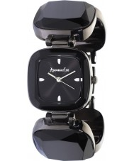 Accessorize B1018 Ladies Black Crystals Watch