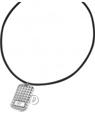 Police 23903PLS-01 Storm Dog Tag Pendant Necklace