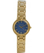 Krug Baümen 5117KL Ladies Charleston Blue Gold Watch