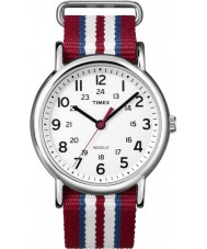 Timex T2N746 Three Tone Weekender Slip Through Watch