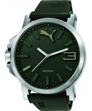 Puma PU103461013 Ultrasize 50 Green Silicone Strap Watch