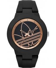 Adidas ADH3086 Aberdeen Matte Black Silicone Strap Watch