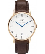 Daniel Wellington DW00100094 Dapper 34mm Bristol Rose Gold Watch