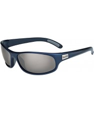 Bolle Anaconda Matt Blue Polarized TNS Gun Sunglasses