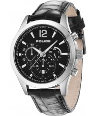 Police 12757JS-02 Mens Ohio Black Leather Strap Watch