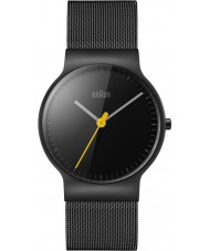 Braun BN0211BKMHL Mens Classic Slim Black Steel Bracelet Watch