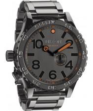 Nixon 51-30 Tide Steel Grey Watch