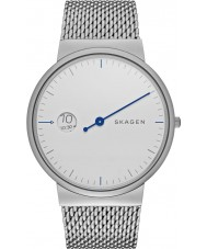 Skagen SKW6193 Mens Ancher Mono Silver Steel Bracelet Watch