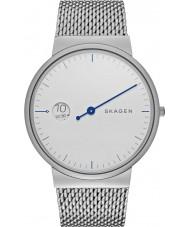 Skagen SKW6193 Mens Ancher Mono Silver Steel Bracelet Watch