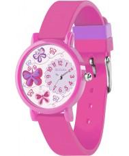 Tikkers TK0074 Girls 3D Pink Butterfly Watch