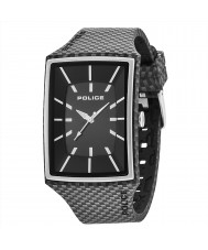 Police 13077MPBS-02A Mens Vantage X Black Silicone Strap Watch
